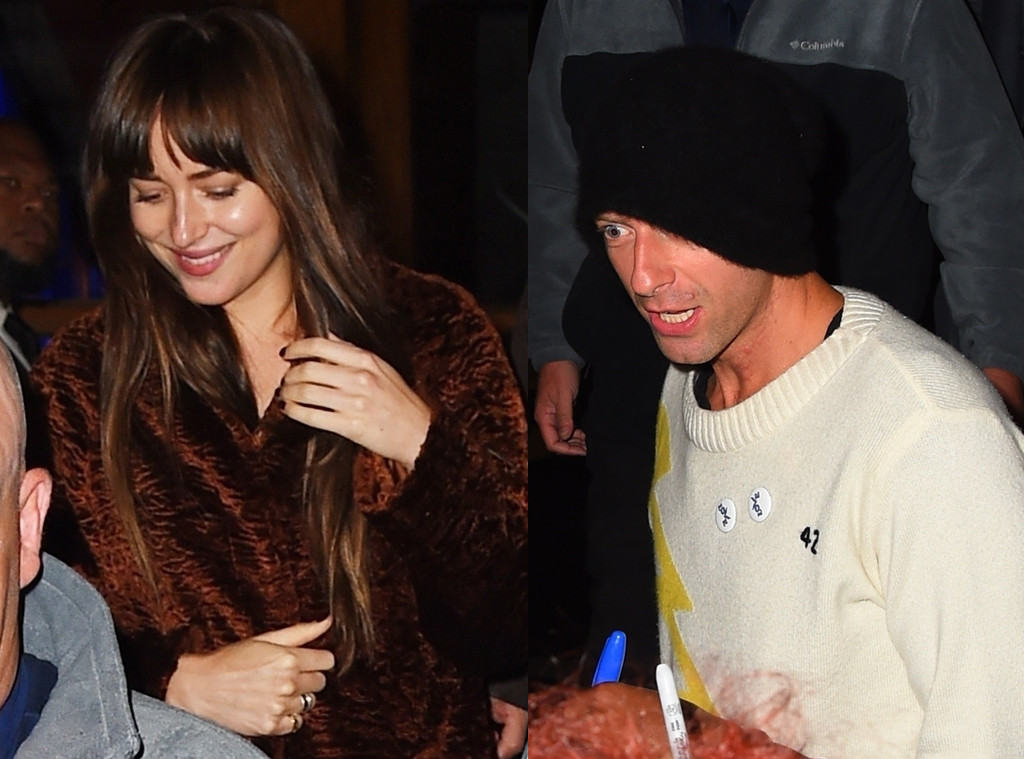 Dakota Johnson, Chris Martin