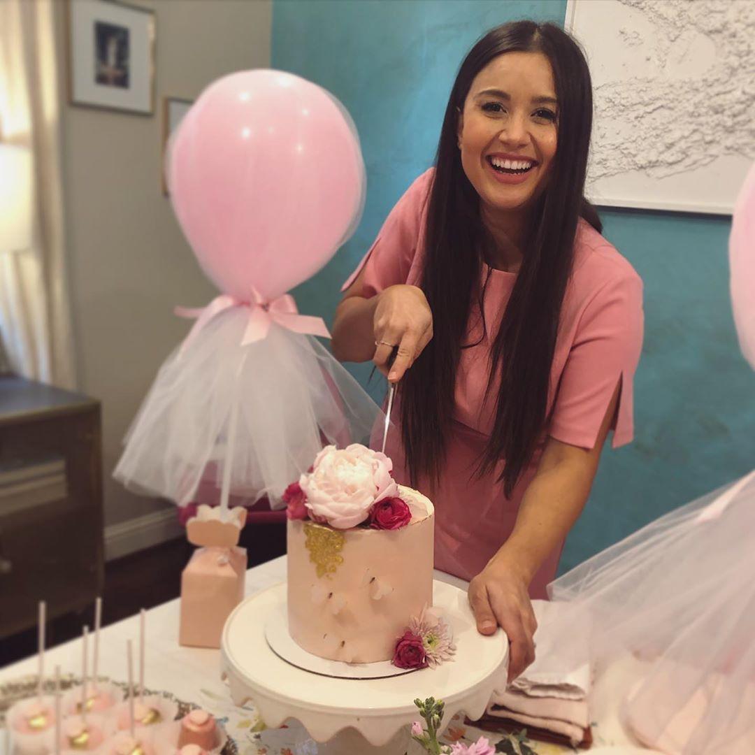 Catherine Giudici, Baby Shower, Instagram