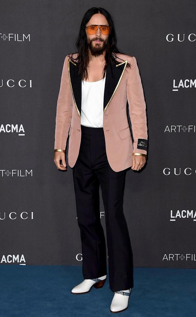 Jared Leto, 2019 LACMA Art and Film Gala, Fashion Police Widget