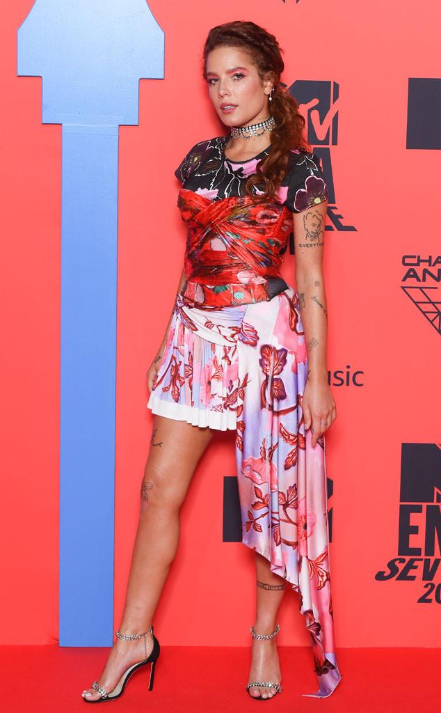 Halsey, 2019 MTV EMA's, Arrivals