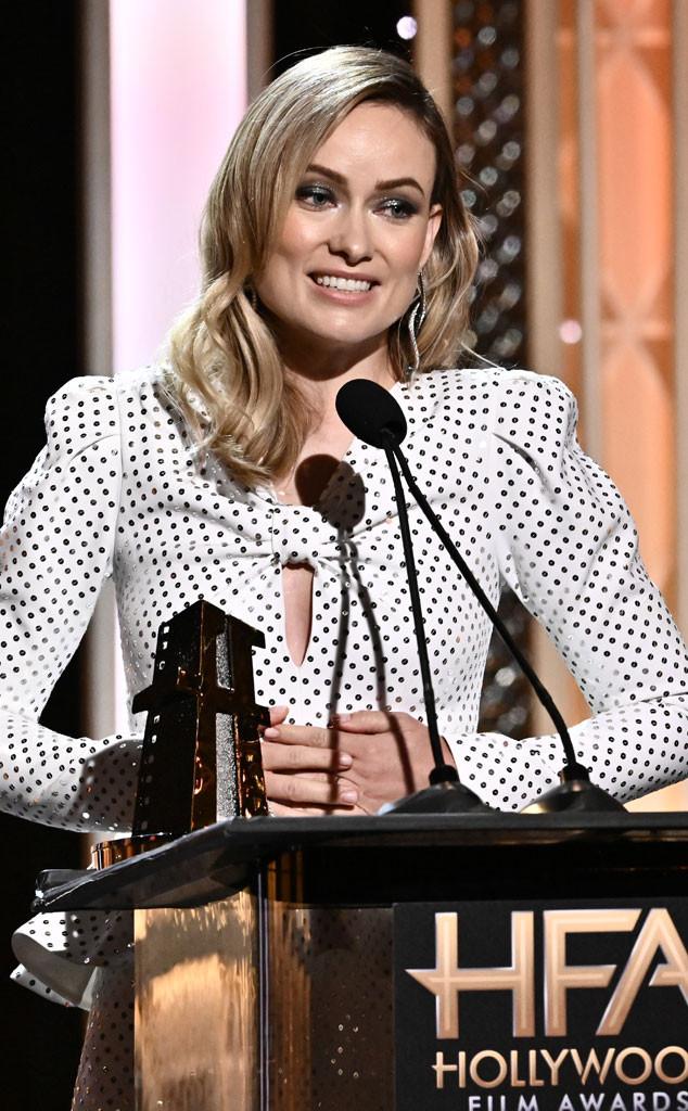 Olivia Wilde, 2019 Hollywood Film Awards, Inside