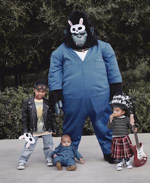Kim Kardashian, Kanye West, Kids, Halloween 2019