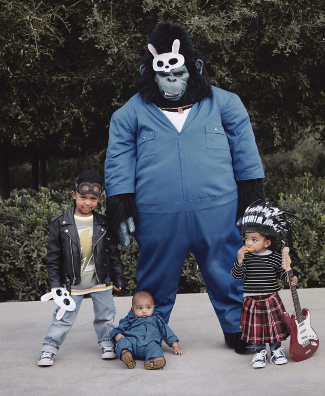 North West Halloween Costume 2020 See Every Kardashian Jenner Costume From Halloween 2019   E! Online