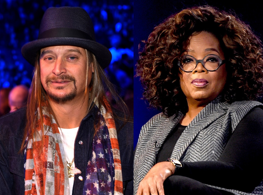 Kid Rock, Oprah Winfrey