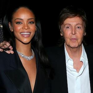 Rihanna, Paul McCartney