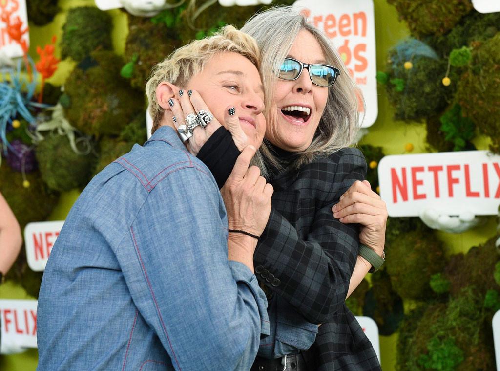 Ellen DeGeneres, Diane Keaton