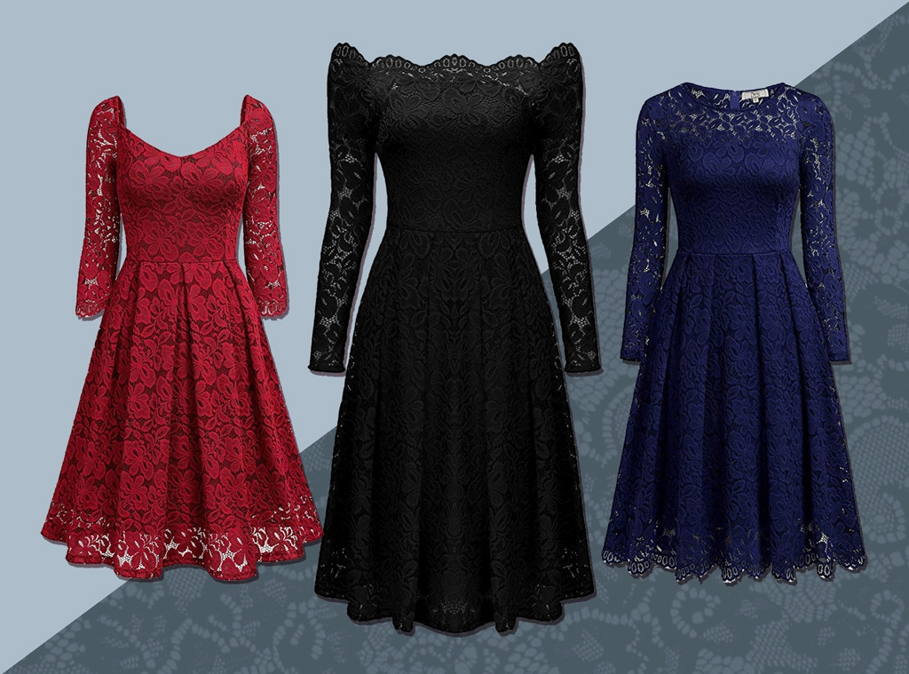 E-Comm: Amazon Lace Swing Dress