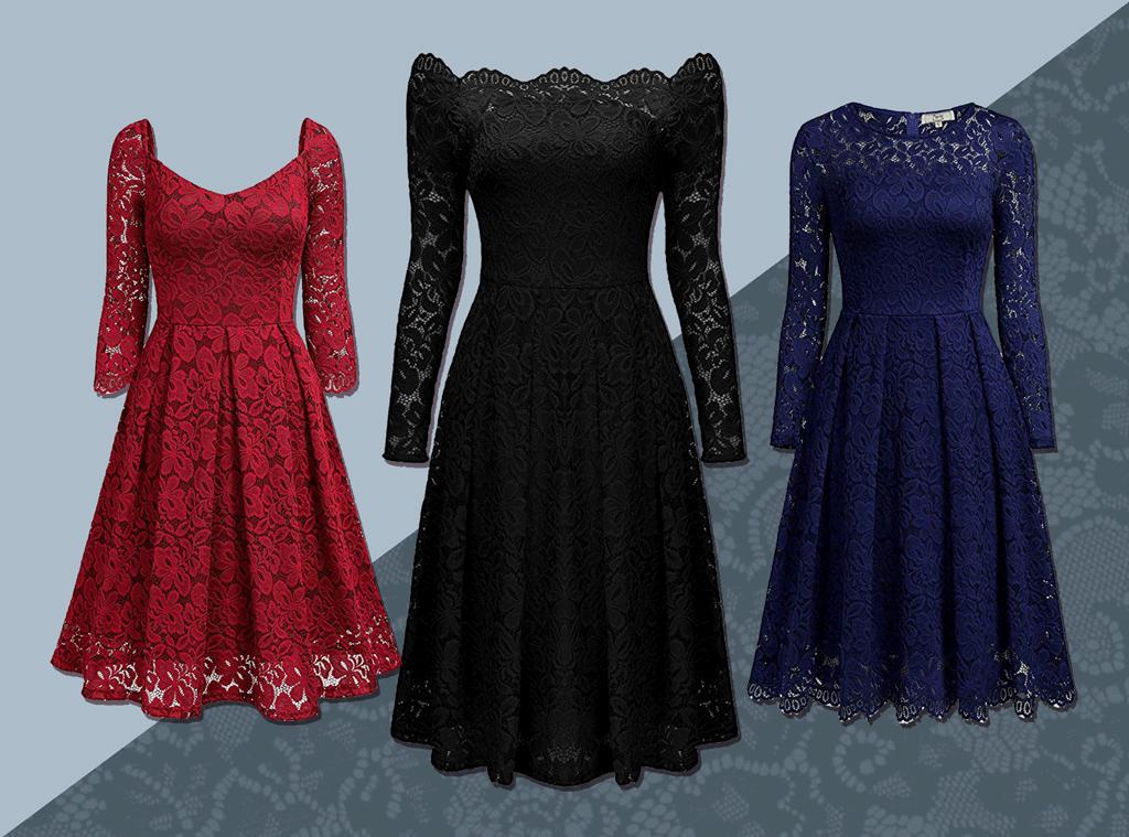 E-Comm: Amazon Lace Swing Dress