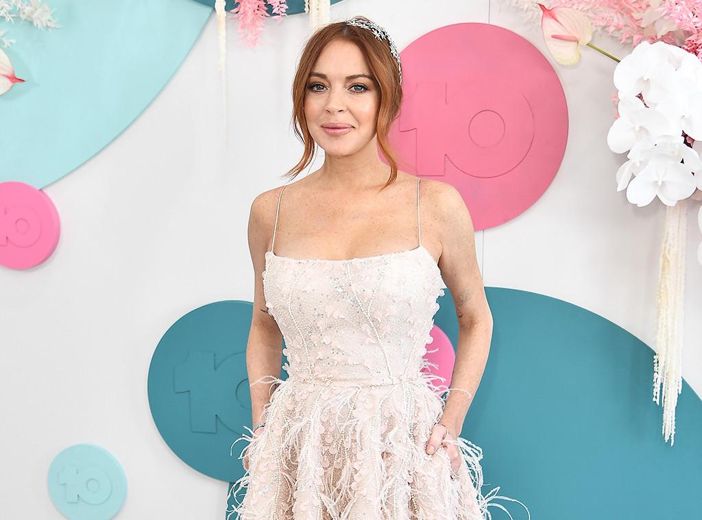 Lindsay Lohan, Melbourne Cup 2019