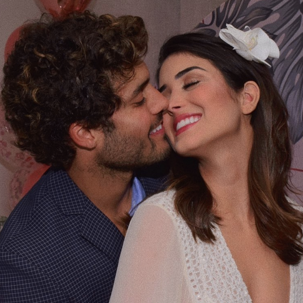 Leticia Almeida, noivo, Bruno Daltro