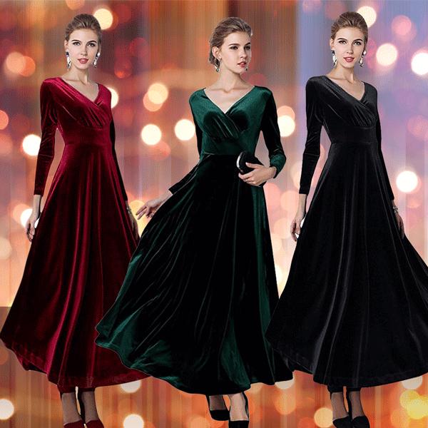 This $40 Velvet Dress Has 800 5-Star Reviews on Amazon