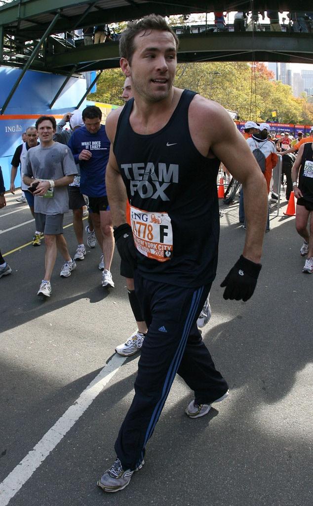 Ryan Reynolds, 2008 NYC Marathon
