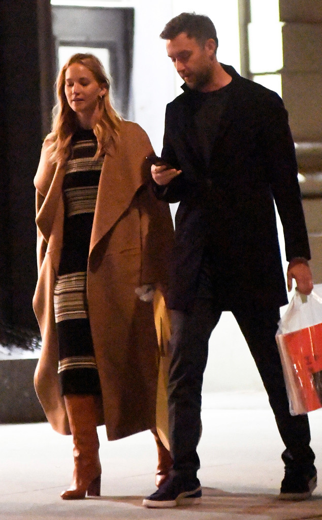 Jennifer Lawrence & Cooke Maroney Seen For First Time ...