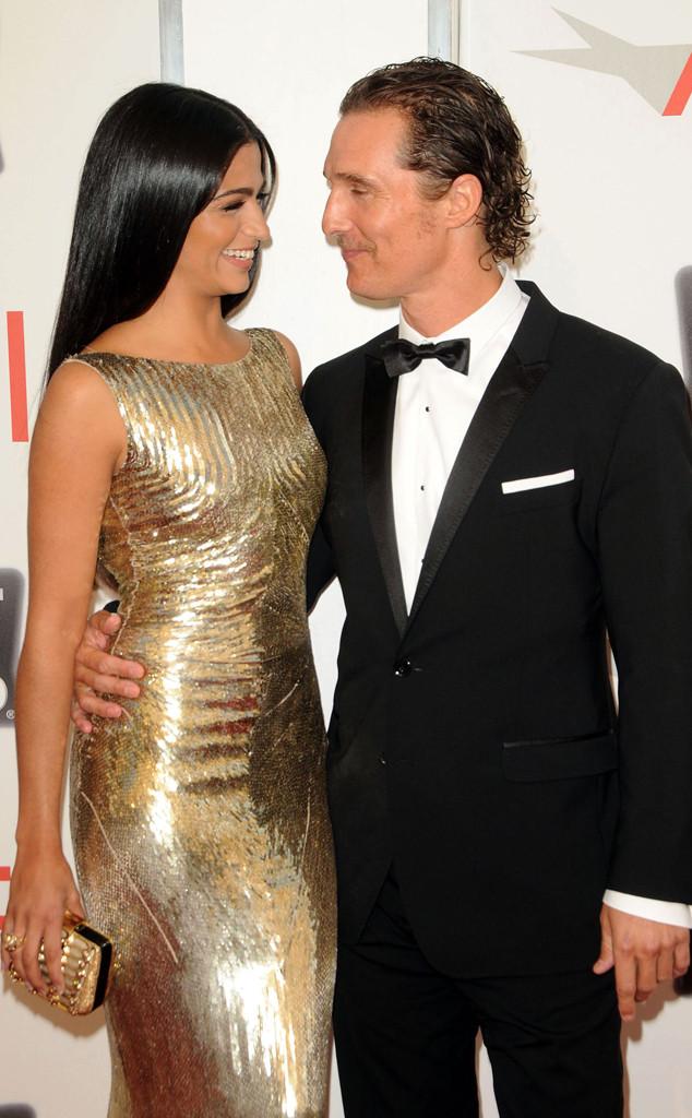 Matthew McConaughey, Camila Alves, 2011
