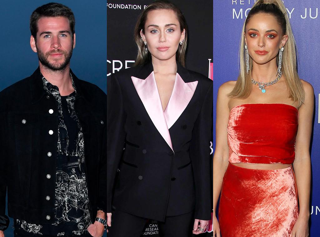 Liam Hemsworth, Miley Cyrus, Kaitlynn Carter
