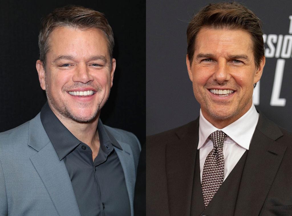 Matt Damon Explains His & Tom Cruise's Different Approaches to Dangerous Stunts