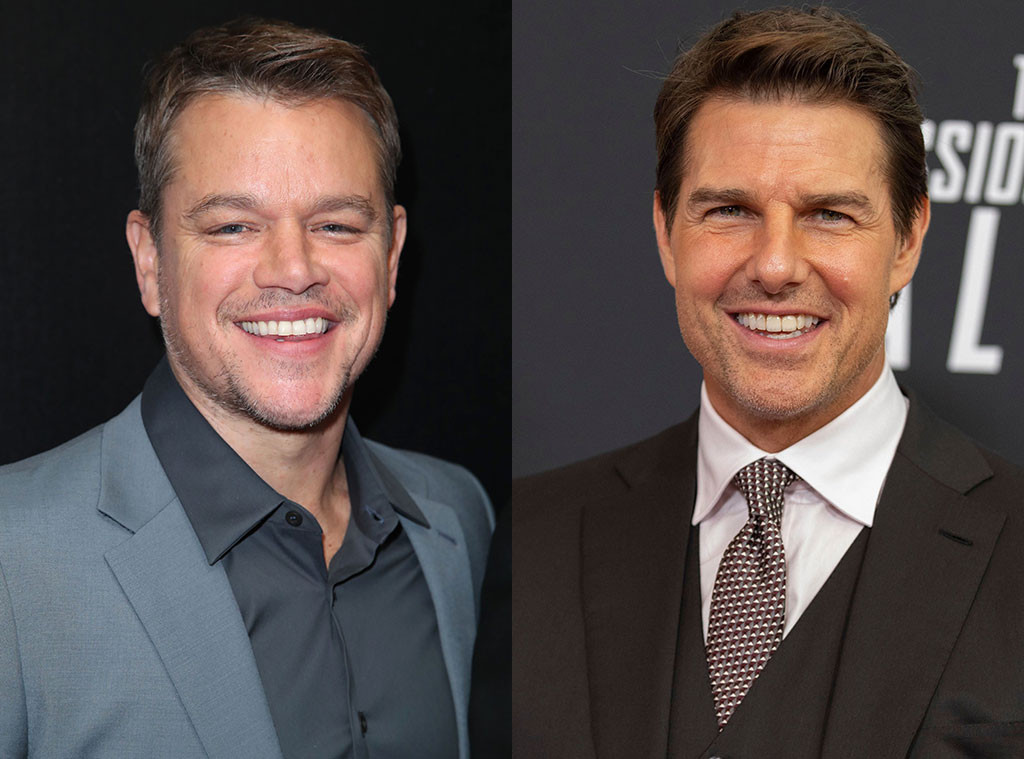 Matt Damon, Tom Cruise