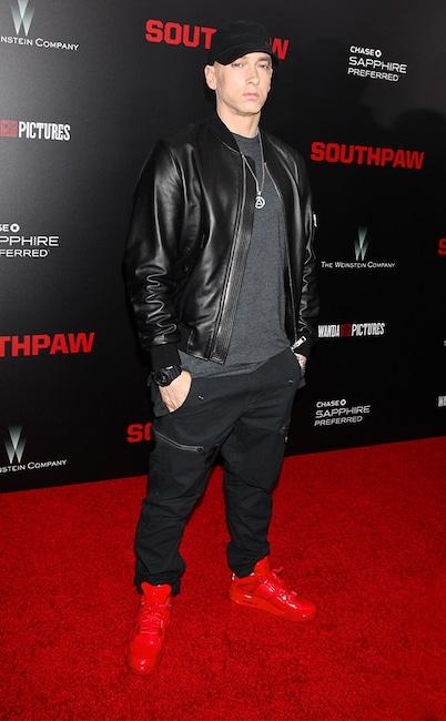 Eminem, 2015 Southpaw Premiere