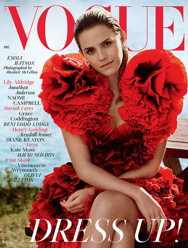 Emma Watson, British Vogue, December 2019