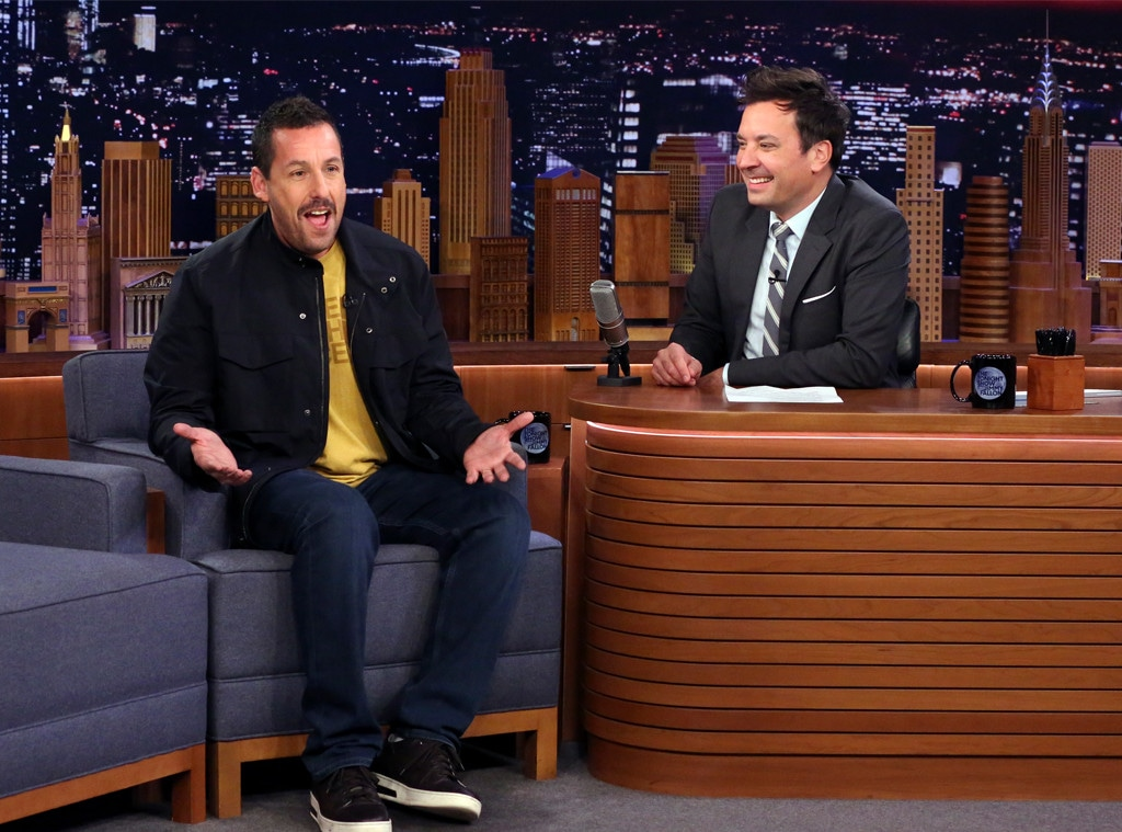 Adam Sandler, The Tonight Show, Jimmy Fallon