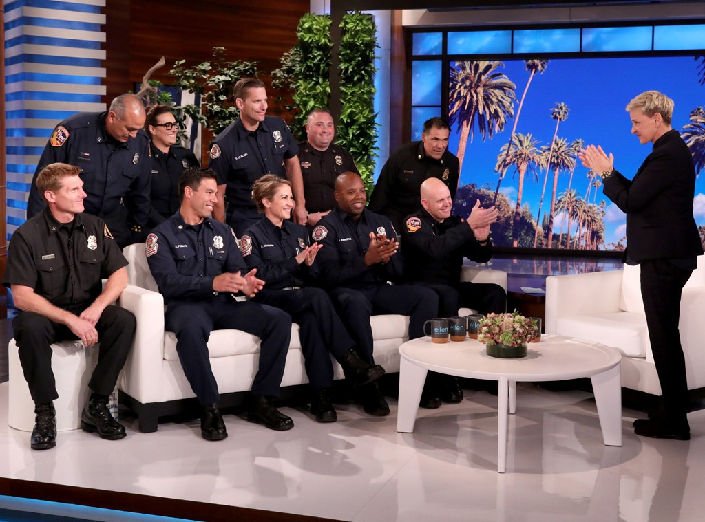 California Firefighters, The Ellen DeGeneres Show 2019