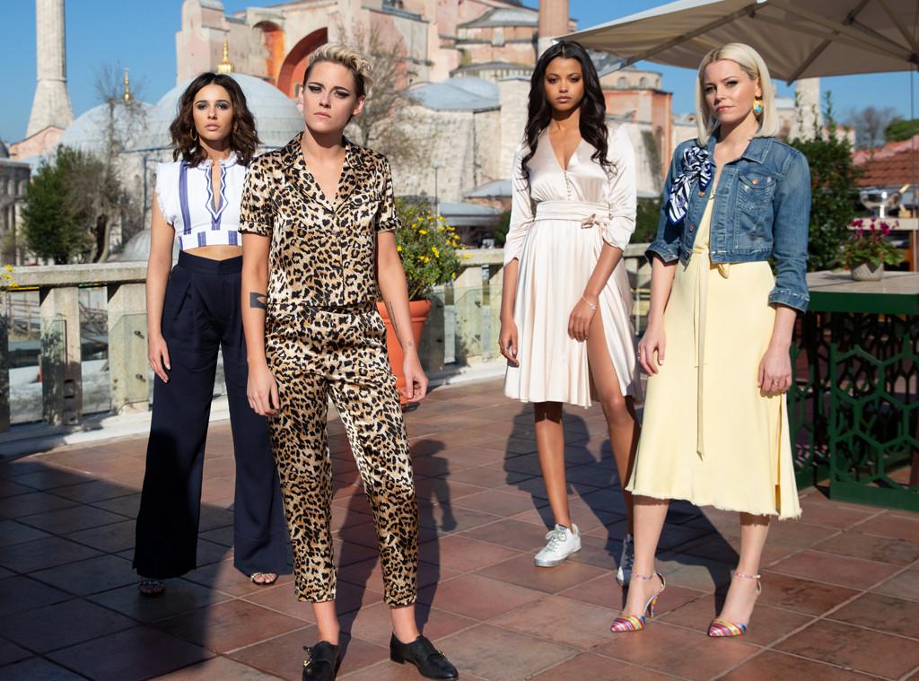 Ella Balinska, Kristen Stewart, Charlie's Angels, Elizabeth Banks, Naomi Scott