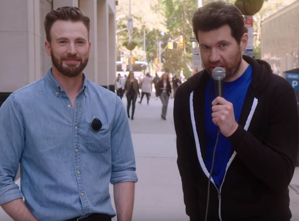 Chris Evans, Billy Eichner, Billy On The Street 2019