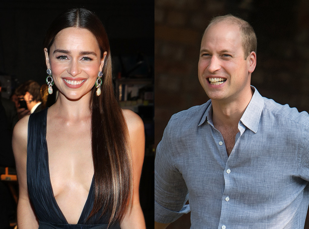 Emilia Clarke, Prince William