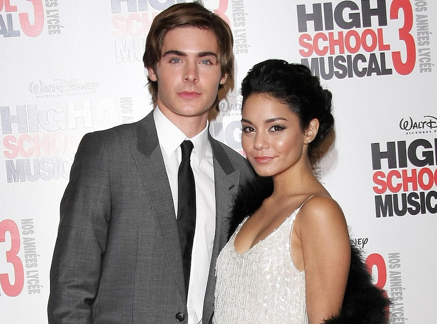 High School Musical 3, Zac Efron, Vanessa Hudgens
