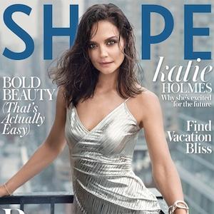 Katie Holmes, Shape Magazine Dec 2019