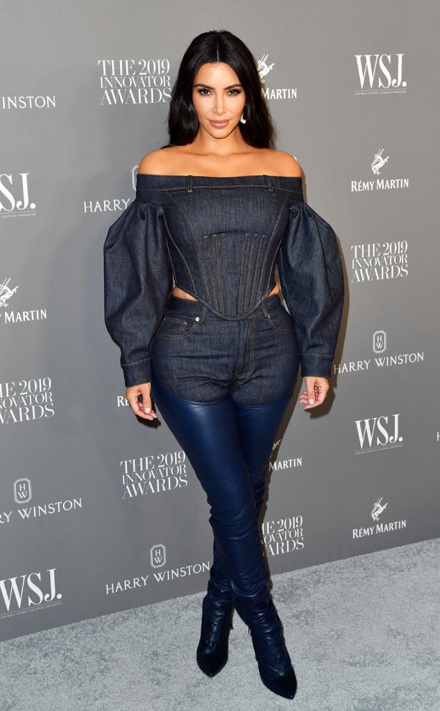 Kim Kardashian West, 2019 WSJ Magazine Innovator Awards, Fashion Police Widget