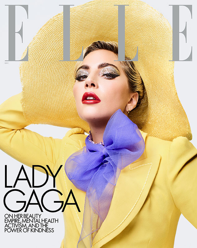 Lady Gaga, Elle, December 2019