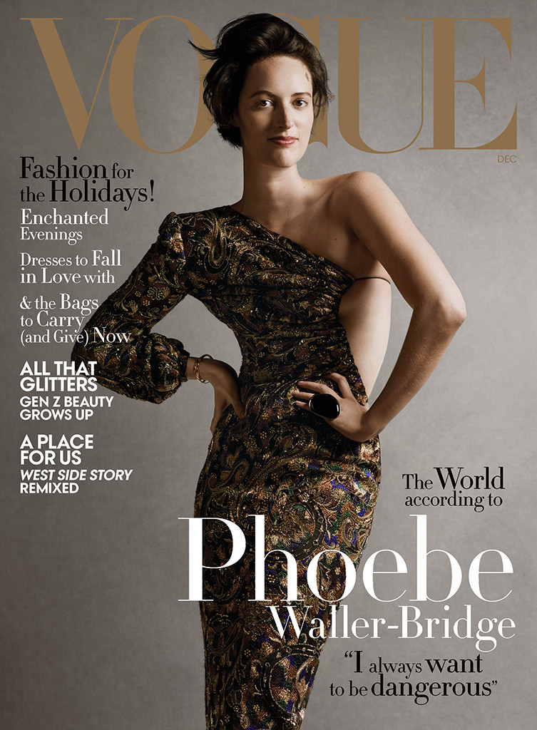 Phoebe Waller-Bridge, Vogue, December 2019