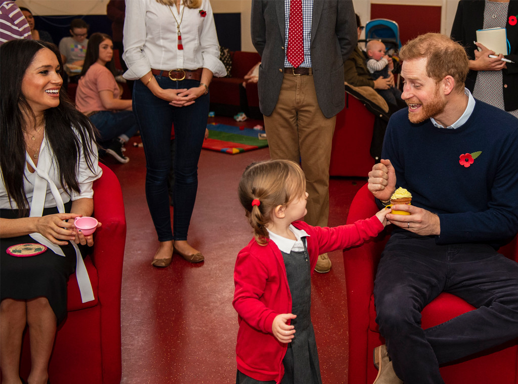 prince harry hints he and meghan markle are thinking about baby no 2 e online prince harry hints he and meghan markle