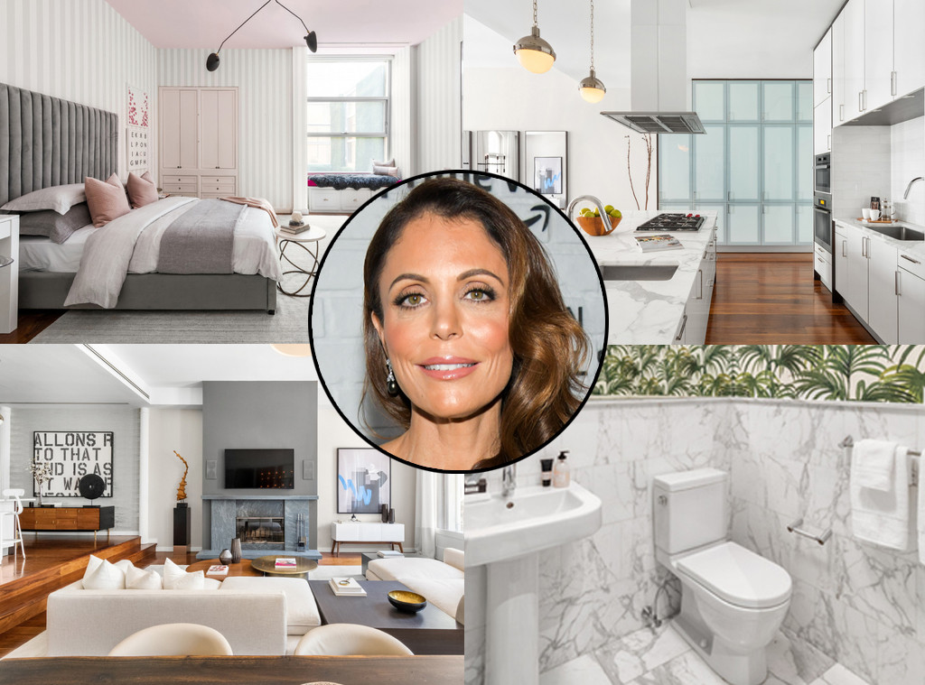 Bethenny Frankel, loft split