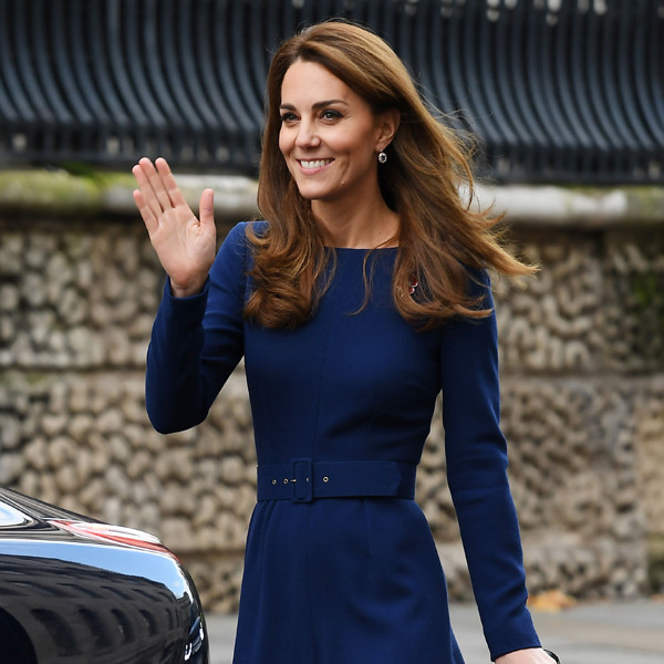 Kate Middleton Stunning Sapphire Dress Will Make You Feel Anything But Blue
