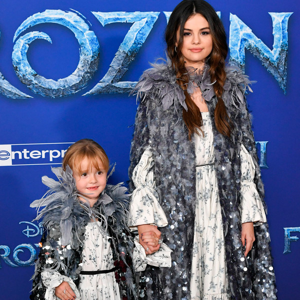 Selena Gomez and Little Sister Gracie Steal the Show at Frozen 2 Premiere