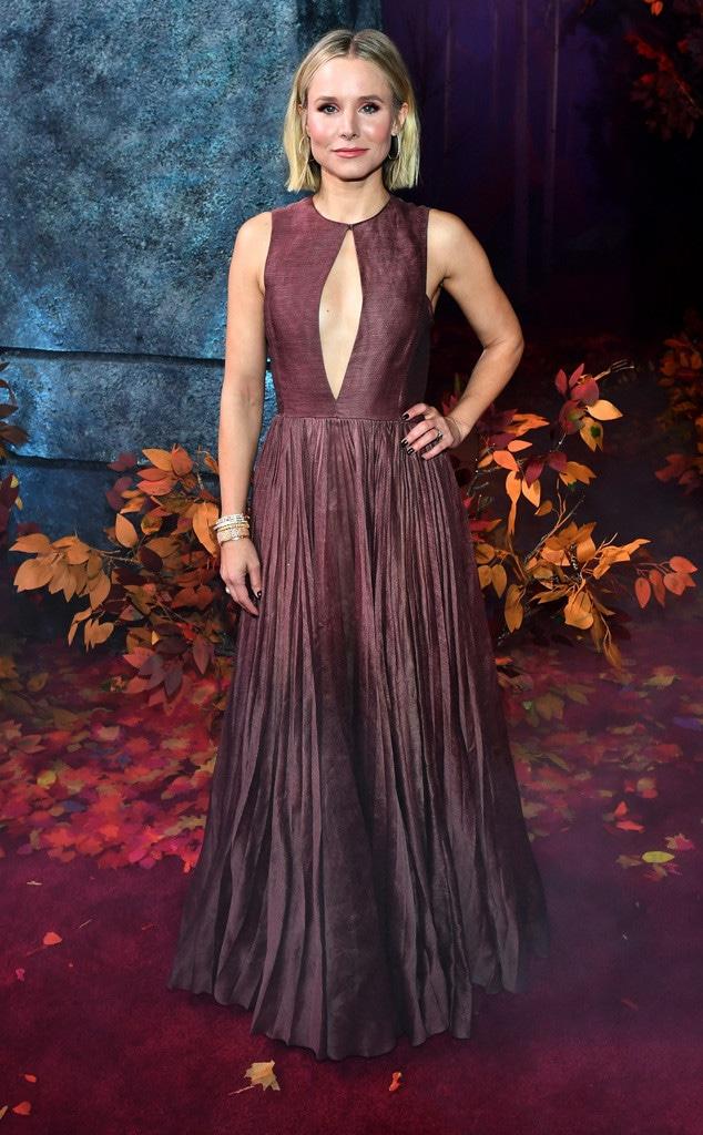 Kristen Bell, Fashion Police Widget, Frozen 2