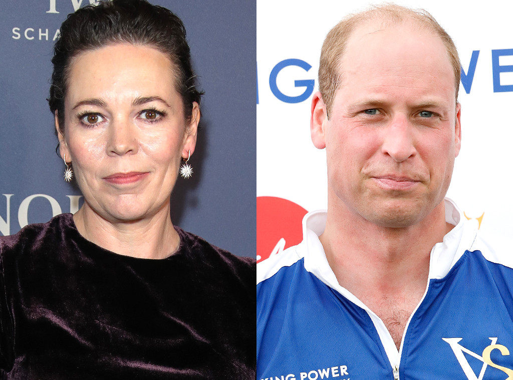 Olivia Colman, Prince William