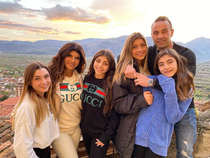 Teresa Giudice, Joe Giudice, daughters, Gia, Milania, Gabrielle, Audriana, Italy, Instagram