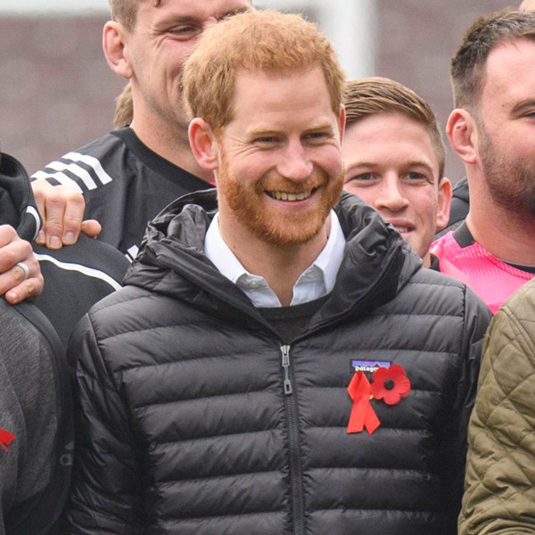 Prince Harry Proves His Son Archie Is Already the Cutest Rugby Fan