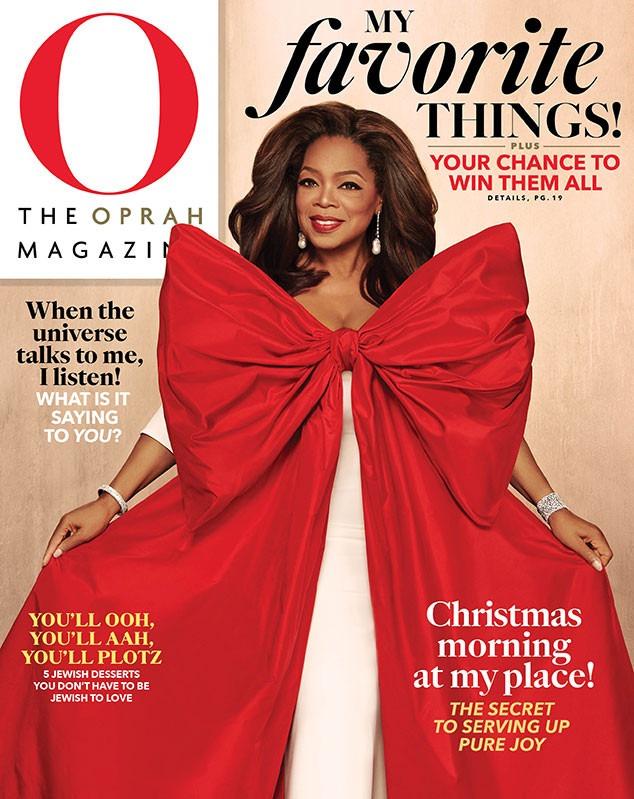 Oprah Winfrey, Oprah Magazine December 2019