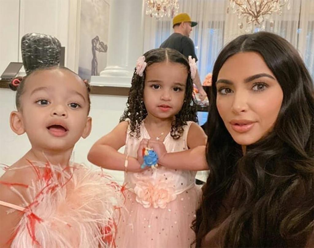 Dream Kardashian, Birthday, Kim Kardashian, Rob Kardashian, Chicago West, Instagram