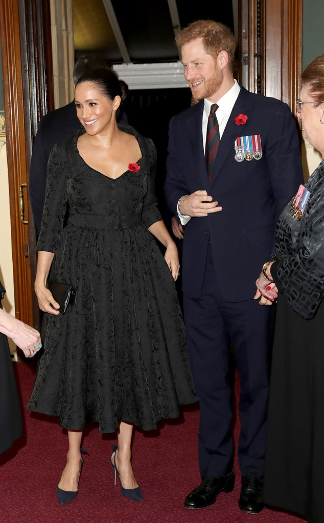 Meghan Markle, Prince Harry, Festival of Remembrance