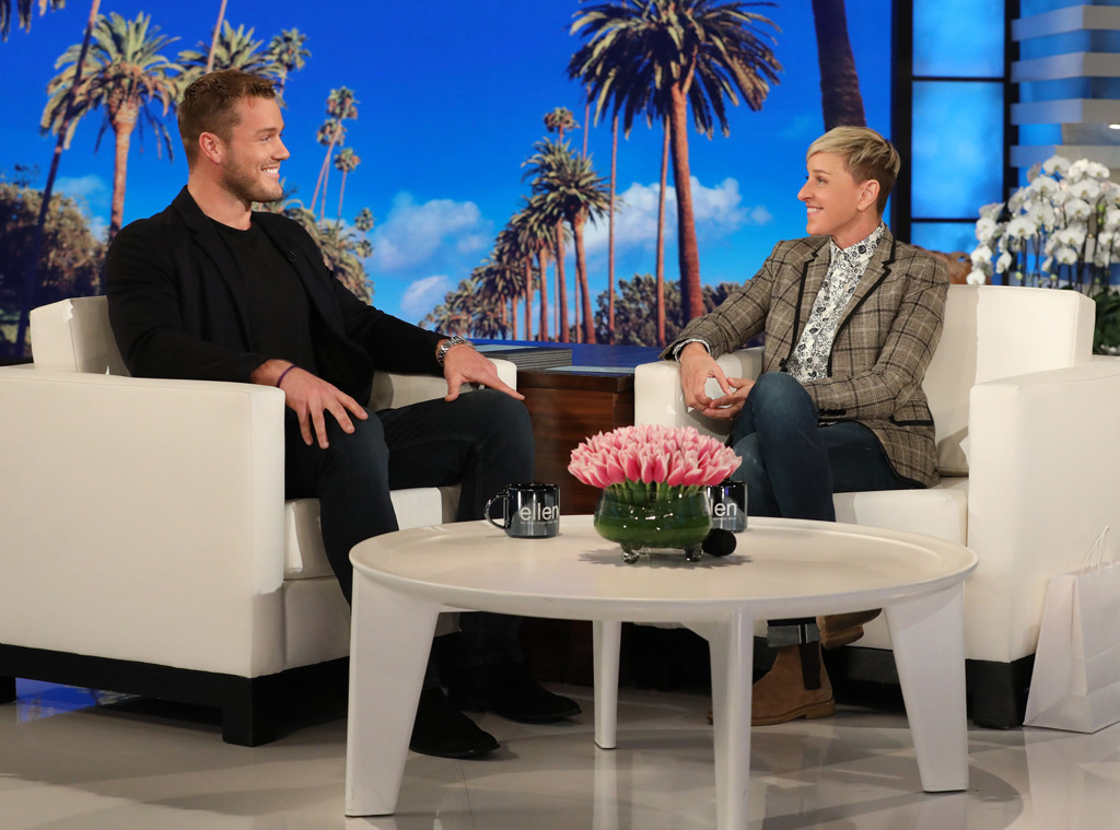 Colton Underwood, The Ellen DeGeneres Show