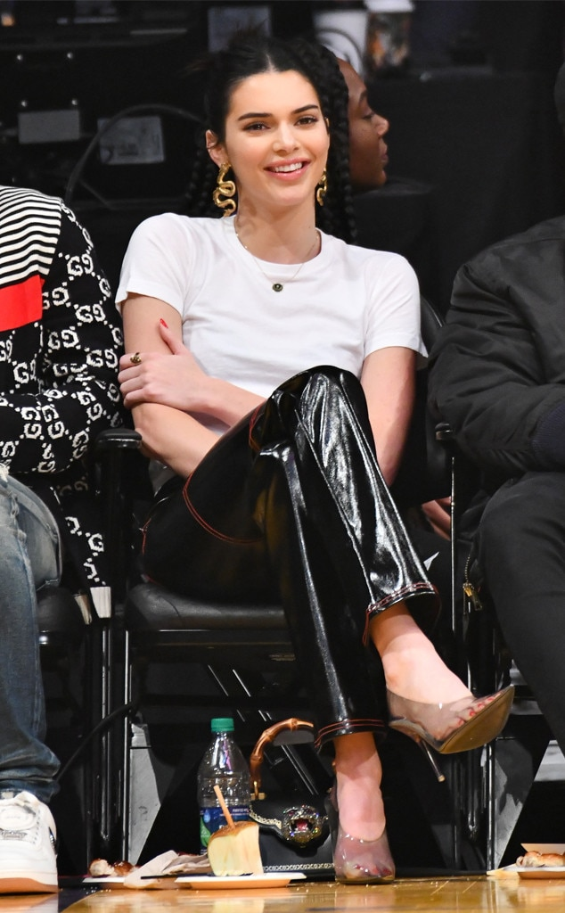 Kendall Jenner, Lakers Game
