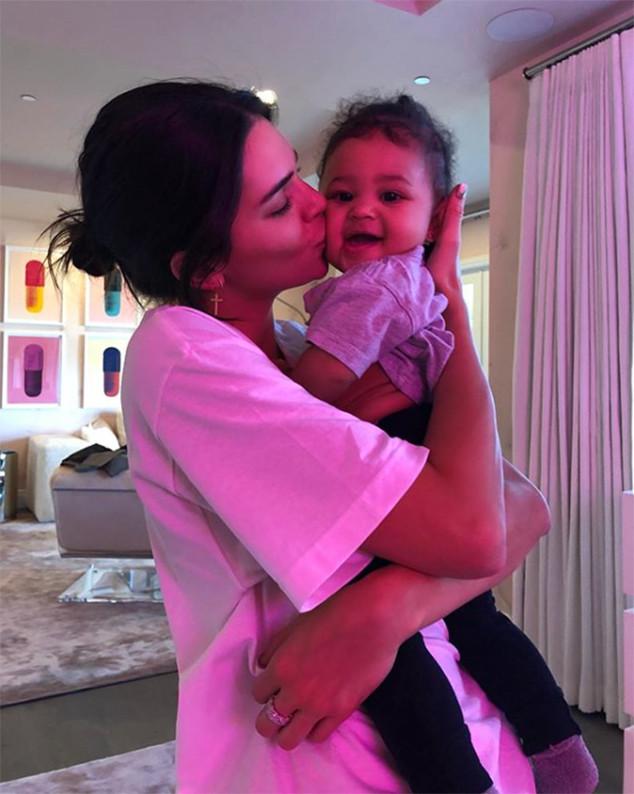 Stormi Webster, Kendall Jenner