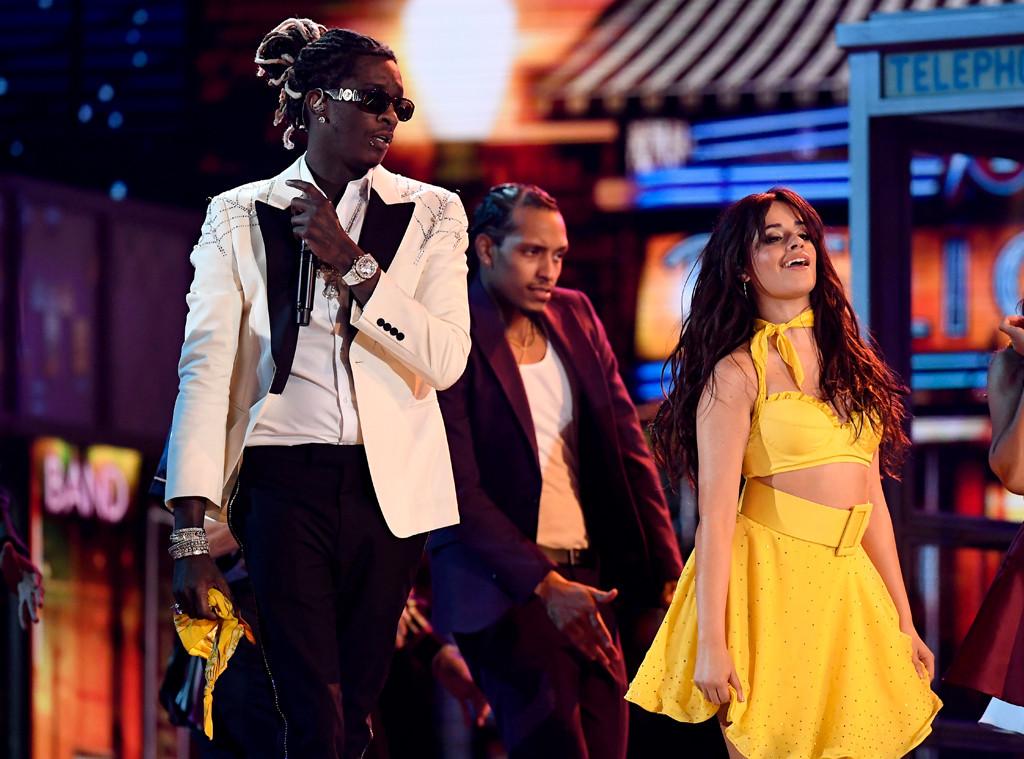 Young Thug, Camila Cabello, 2019 Grammys, 2019 Grammy Awards, Performance