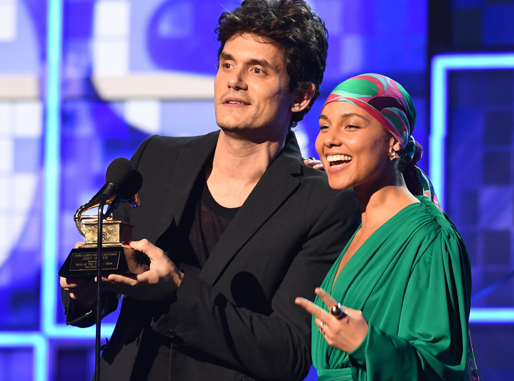 John Mayer, Alicia Keys, 61st Annual Grammy Awards