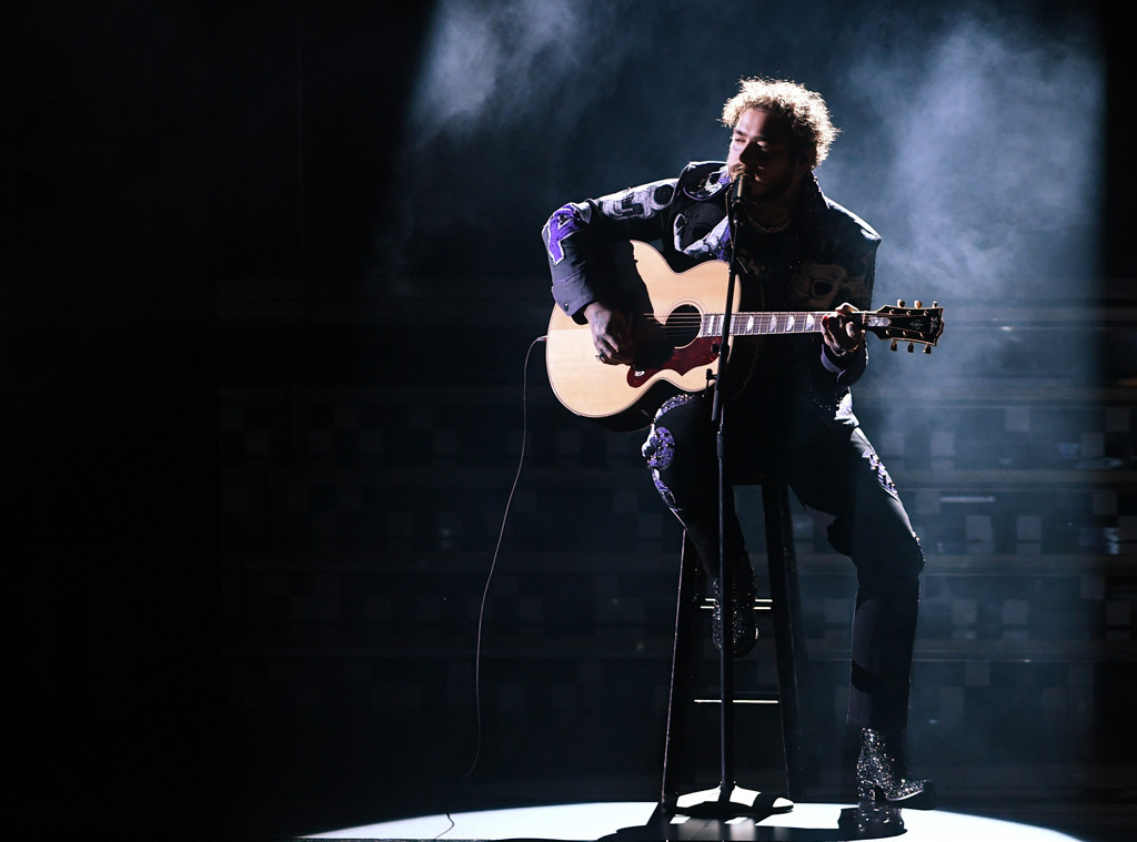 Grammy 2019 Performers: Post Malone Gives Rockstar Performance Alongside Red Hot